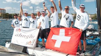 Alinghi wins 2016 Extreme Sailing Series Title Sport