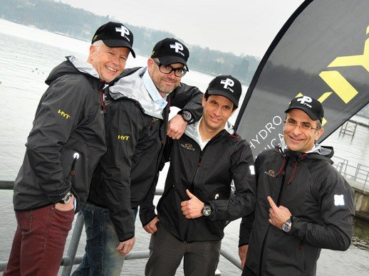 HYT - Partner of the 2015 RC44 sailing Championship