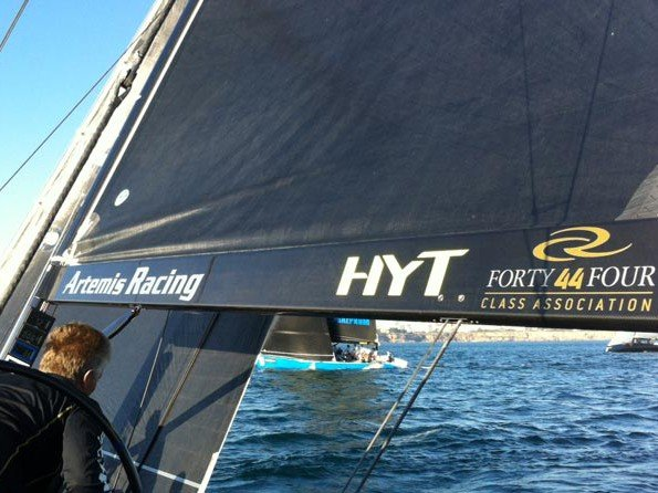HYT and the billionaires - Set a course for the RC44