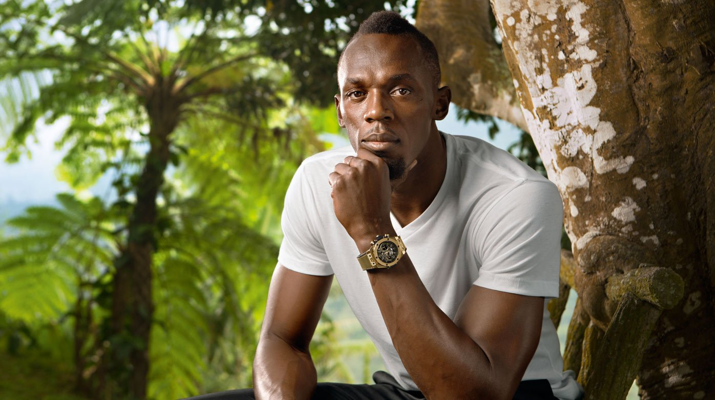 Hublot - Usain Bolt hangs up his spikes
