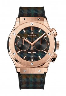Classic Fusion Chronograph Italia Independent King Gold « Tartan »