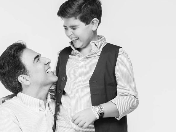 IWC - Vidéo. Mazen and Luca George Hayek - IWC engineered for the best fathers