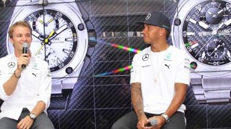 Nico Rosberg and Lewis Hamilton present their own watches Trends and style