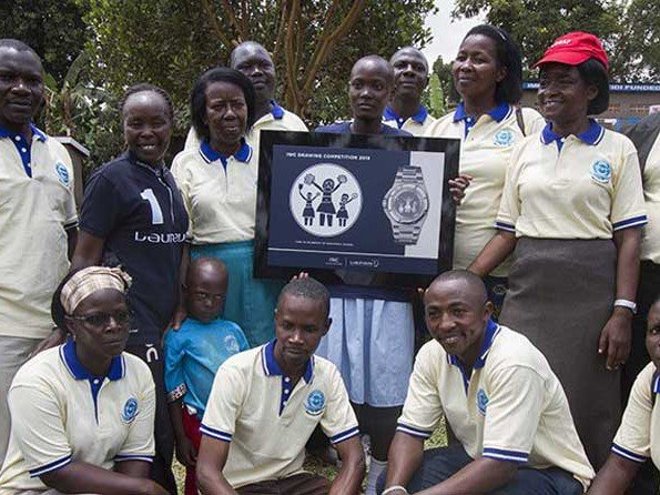 IWC - Video. Laureus project visit and prize giving celebrations in Uganda.