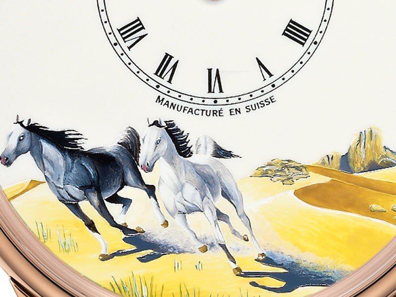 Jaquet Droz - Tribute to the horse