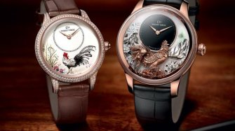 Petite Heure Minute Relief Rooster & Petite Heure Minute Rooster
