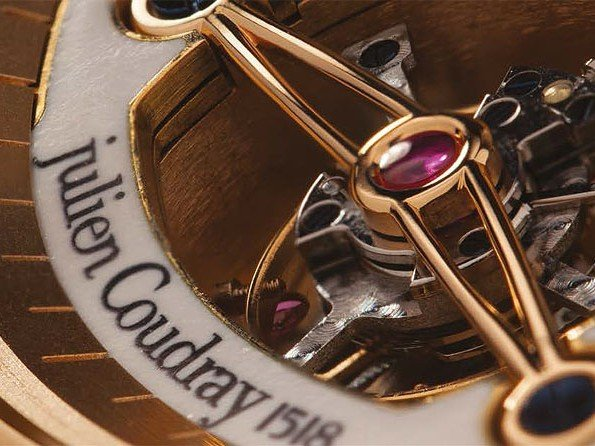 Julien Coudray 1528 - New management