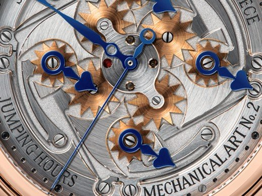 Speake-Marin - Magnificent and disorientating Jumping Hours