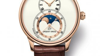 Grande Seconde Moon Ivory Enamel