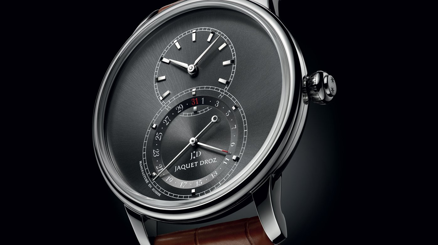 Jaquet Droz - Grande Seconde Quantième Satin-Brushed