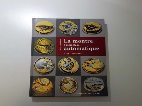 Win the book La Montre à Remontage Automatique - A new competition every day