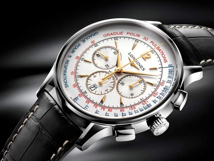 Longines - The Asthmometer-Pulsometer Chronograph