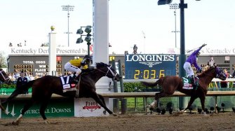 Longines times the triple crown of thoroughbred racing Trends and style