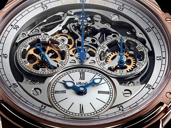 Louis Moinet - Reinventing the face of the chronograph