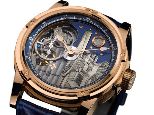 Louis Moinet - Baselworld 2014 : Astral cities