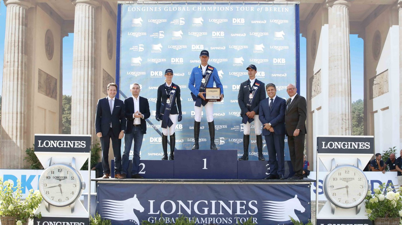 Longines - Berlin joined the Longines Global Champions Tour
