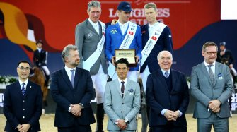 Tremendous final stage of the Longines Masters
