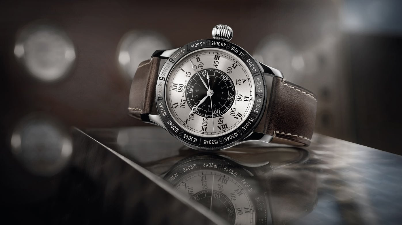 Longines - The Lindbergh Hour Angle Watch 90th Anniversary