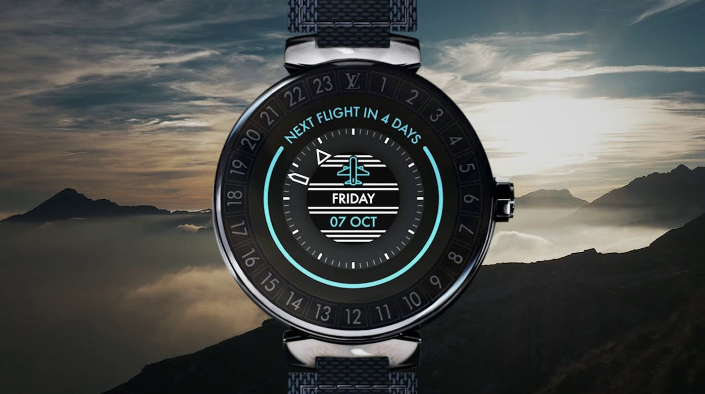 Louis Vuitton - The New Tambour Horizon connected watch
