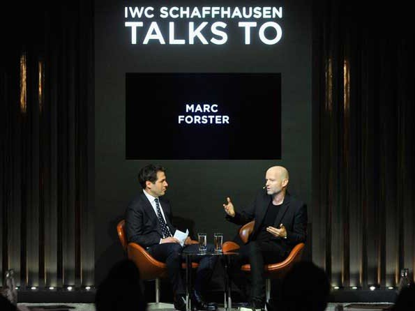 IWC - Video. Interview of Marc Forster