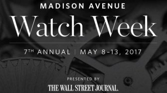 Top Watch Brands Celebrate Madison Avenue Watch Week in New York Events