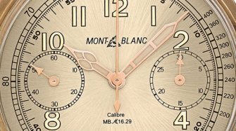 Montblanc 1858 Chronograph Tachymeter Limited Edition Trends and style