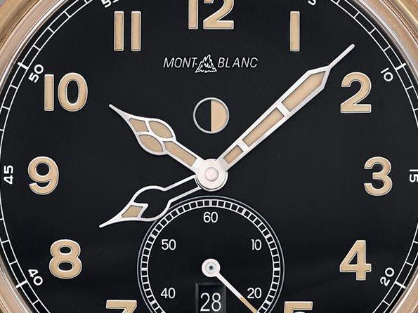 Montblanc  - Montblanc 1858 Automatic Dual Time