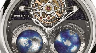 Montblanc Tourbillon Cylindrique NightSky Geosphères  Style & Tendance