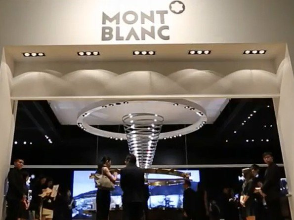 MontBlanc - Vidéo. Montblanc at the Watches & Wonders 2014