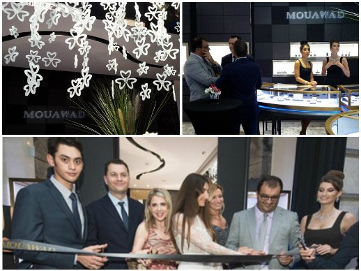 Mouawad - New flagship store in Geneva