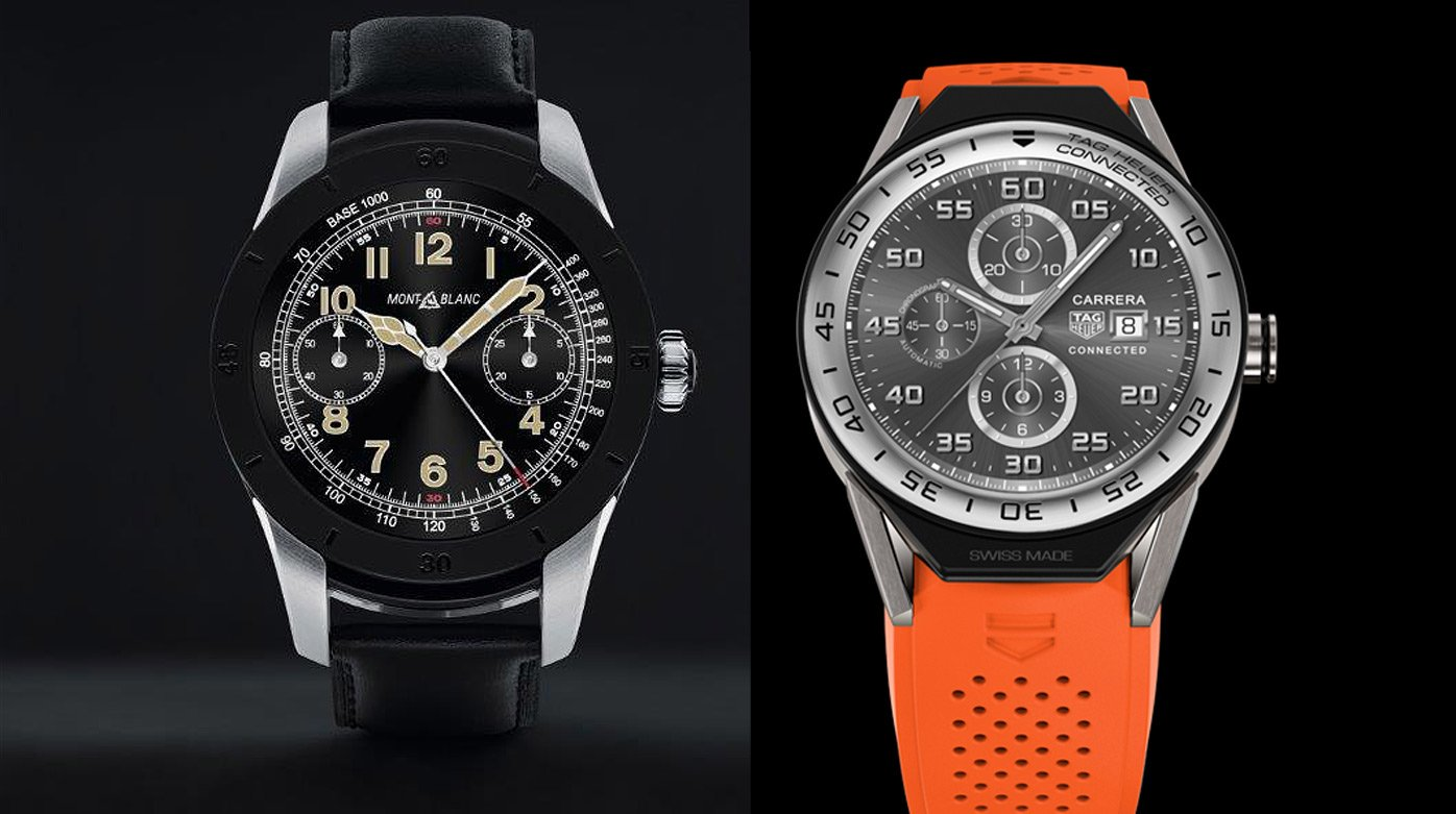 Smart watches - Montblanc Summit vs TAG Heuer Connected Modular 45