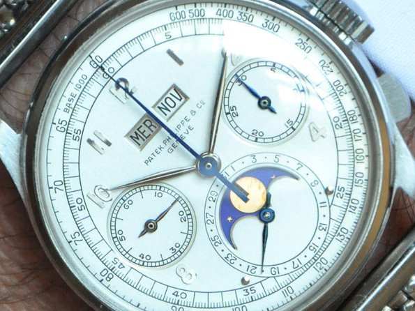 Phillips - Stainless Steel Patek Philippe Reference 1518