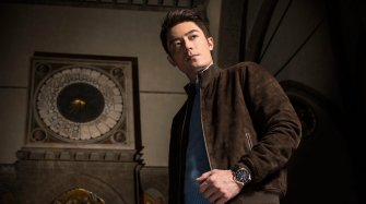 Wallace Huo's journey across Florence with Panerai  People and interviews