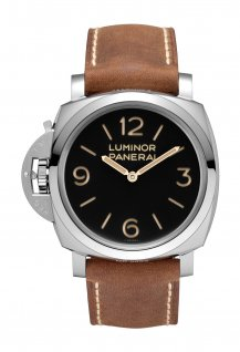 PAM00557 - Luminor 1950 Left-Handed 3 Days Acciaio - 47 mm