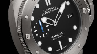Luminor Submersible 1950 3 Days Automatic Titanio Style & Tendance