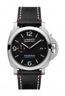 PAM00732 - Luminor Marina 1950 Softbank Team Japan 3 Days Automatic Acciaio - 44 mm
