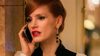 Jessica Chastain's Miss Sloane character in Piaget