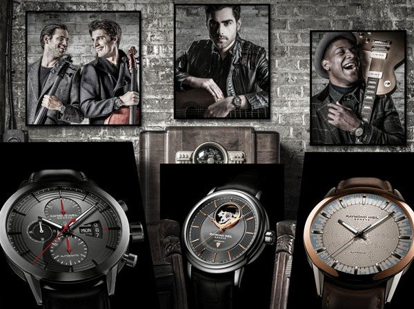 Raymond Weil - Trois nouvelles « Music Special Editions »