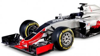 Haas F1 Team and Romain Grosjean