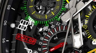 RM 11-02 Automatic Flyback Chronograph Dual Time Zone Trends and style