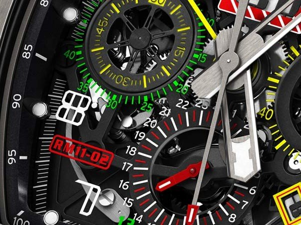 Richard Mille - RM 11-02 Automatic Flyback Chronograph Dual Time Zone