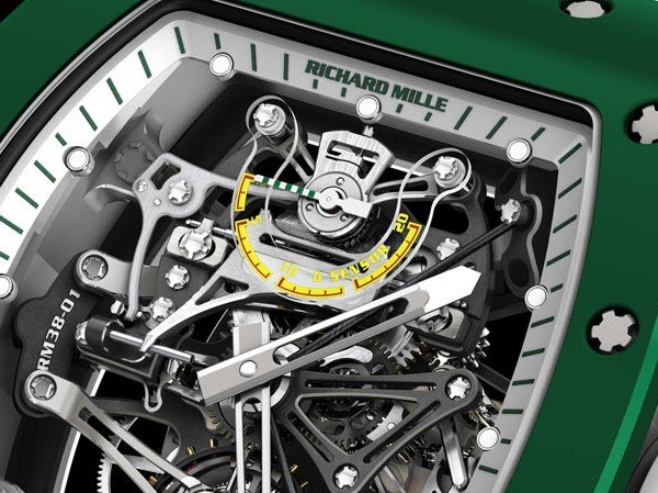 Richard Mille - RM 38-01 Tourbillon Capteur de G Bubba Watson