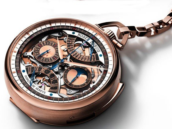 Roger Dubuis - The first Roger Dubuis Millésime skeleton pocket watch
