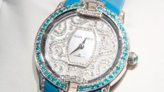 """""""Velvet Paraiba"""" watch  Trends and style"""