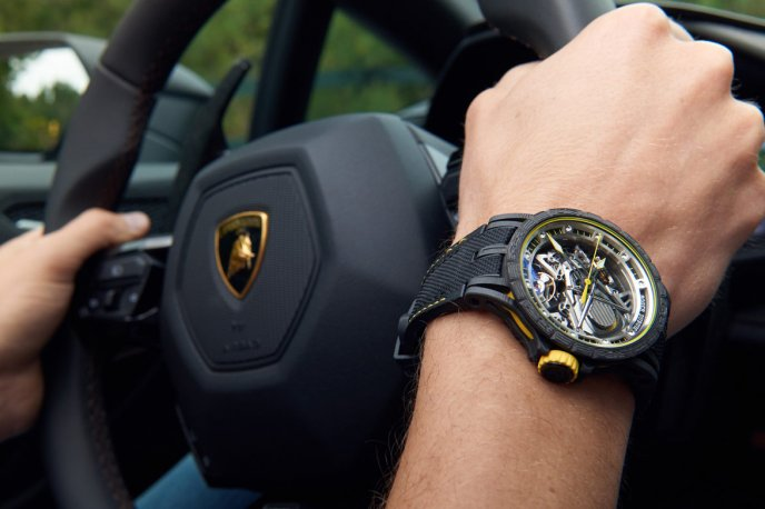 Roger Dubuis and Lamborghini – a partnership forged in carbon Brands