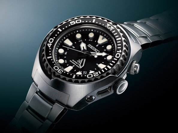 Seiko - Prospex Kinetic GMT Diver