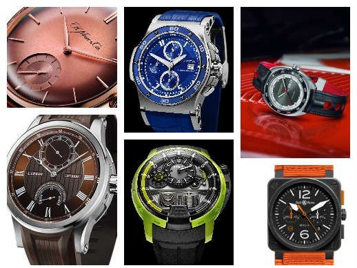Summer watches - 6 colourful men's watches for the summer