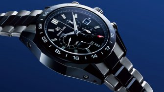 Spring Drive Chronograph GMT Black Ceramic Trends and style