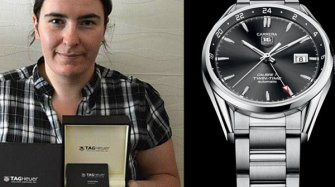 The winner receives her watch Trends and style