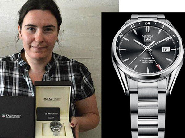 TAG Heuer - The winner receives her watch